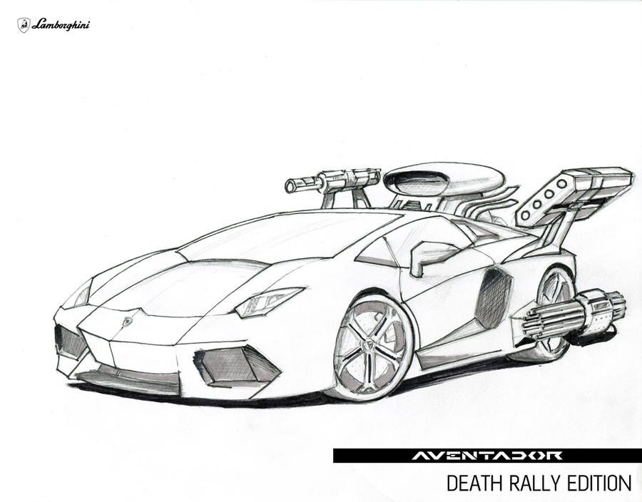 Lamborghini Aventador Death Rally Edition by ...