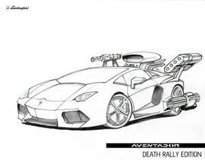 Lamborghini Aventador Death Rally Edition