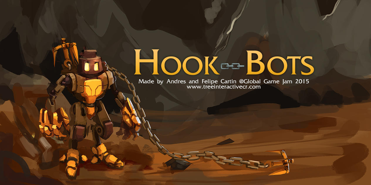 HookBots - Global Game Jam 2015 by ZeroCartin