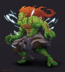 Blanka - Street Fighter Fanart