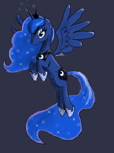 Prettier than the moon by mmajee