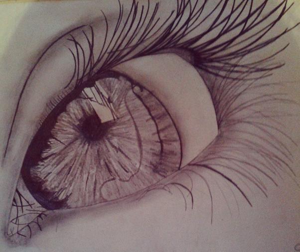 Dibujo a lapiz Ojo 5 by SamiDrawings on DeviantArt