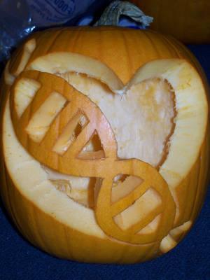 DNA Pumpkin by athenaarion