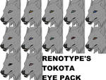 Renotype's Tokota Eye Pack (OUT OF DATE)