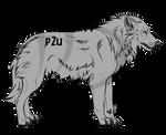 Wolf Lineart (P2U)