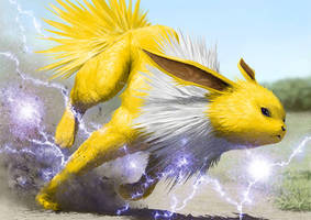 Jolteon by dekunobou-kizakura