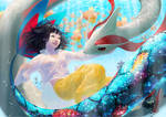 Milotic by dekunobou-kizakura