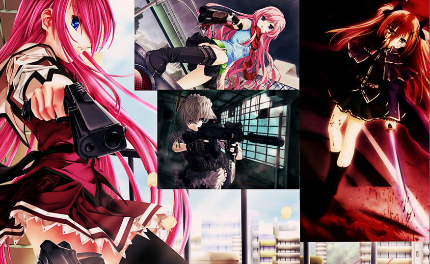 badass anime wallpaper hd  Badass Anime Girls Wallpaper by Kris09760 on DeviantArt