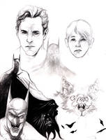 The mind of Bruce Wayne by KennyGordon