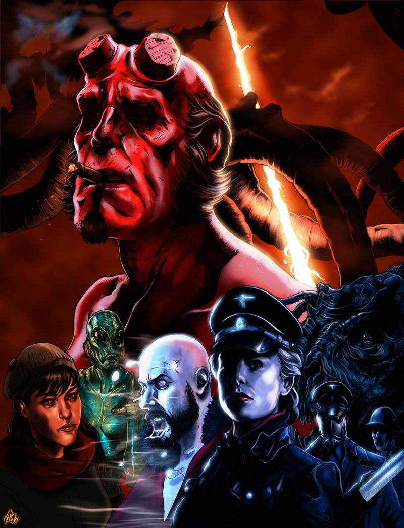 Hellboy by KennyGordon