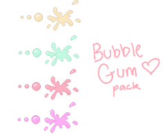 Bubble Gum pack F2U by xiKyJix