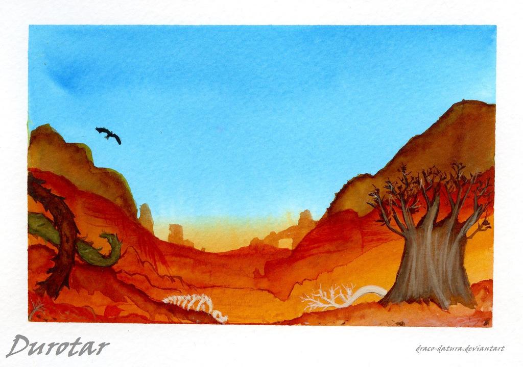 Durotar by draco-datura