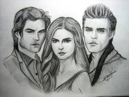 vampire diaries by mmaval