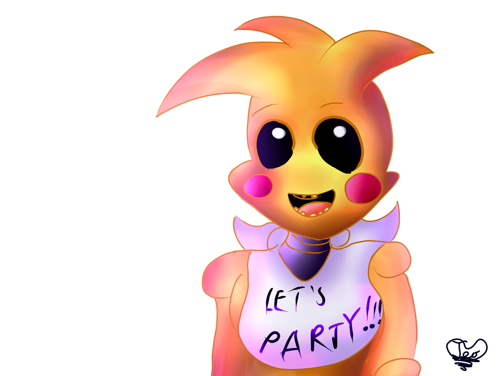 Fnaf toy chica by teoflory3 on deviantart