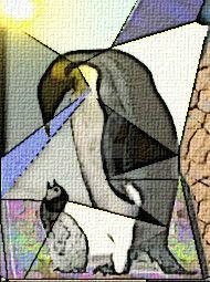 Emperor Penguins by lousephyr