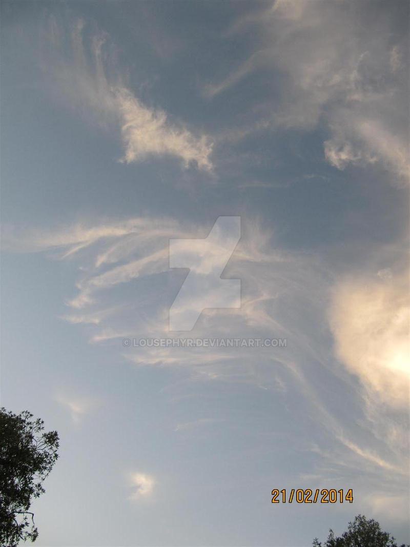 Wispy Clouds Napier by lousephyr