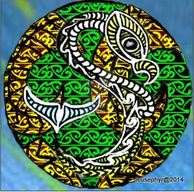 Manaia Spirit Totem by lousephyr