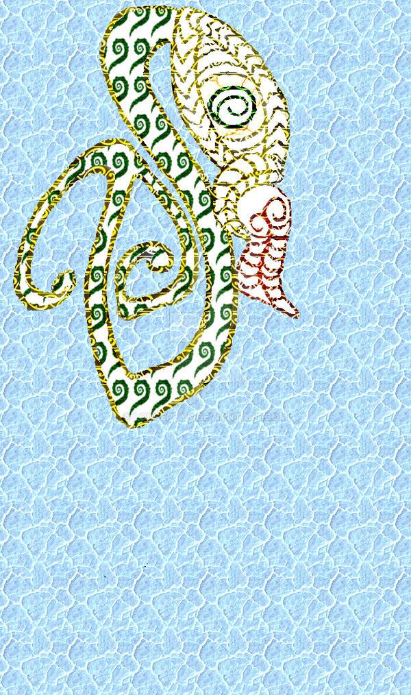 Manaia.Tiki face W.I.P. by lousephyr