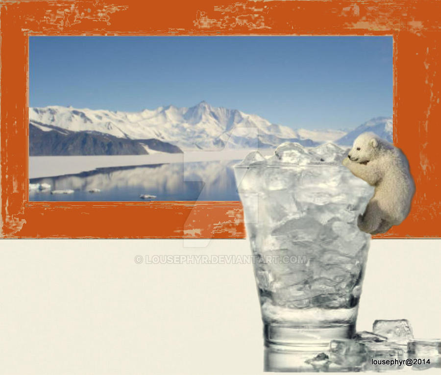Baby Bears Lost Ice 2 by lousephyr