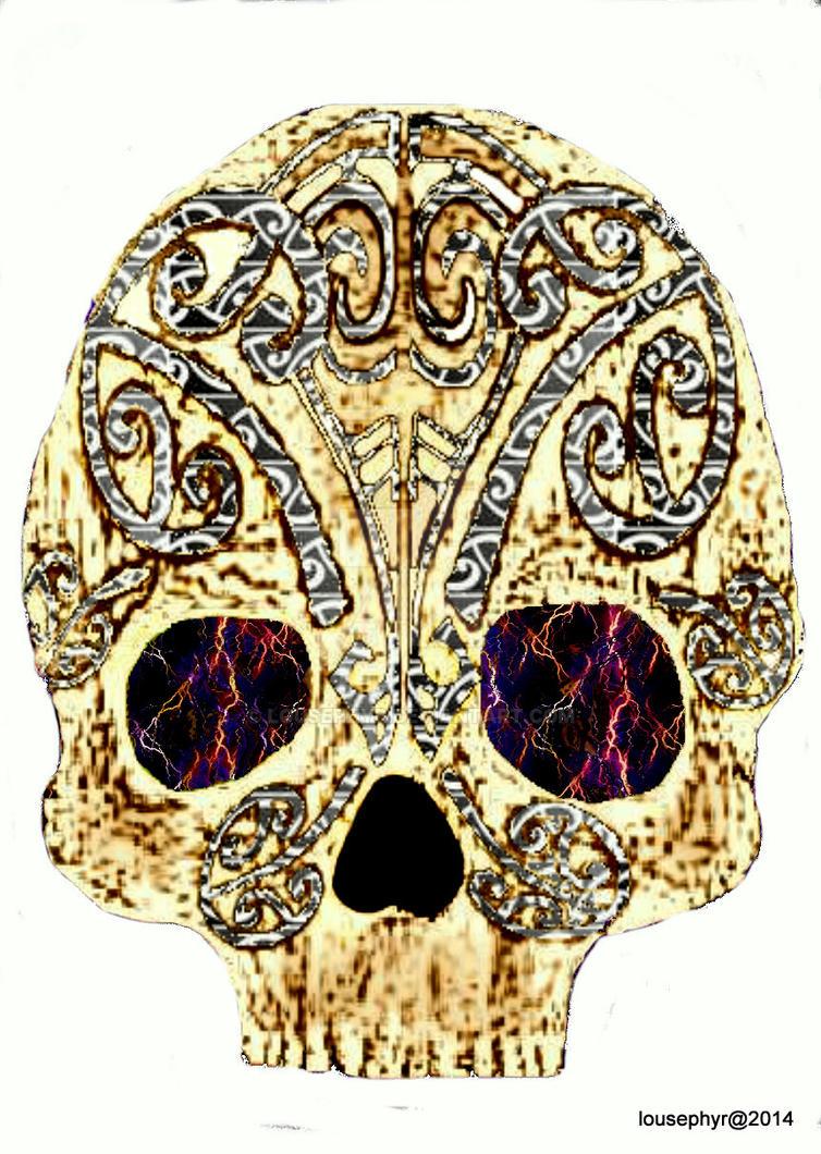 Hammerhead Skull by lousephyr