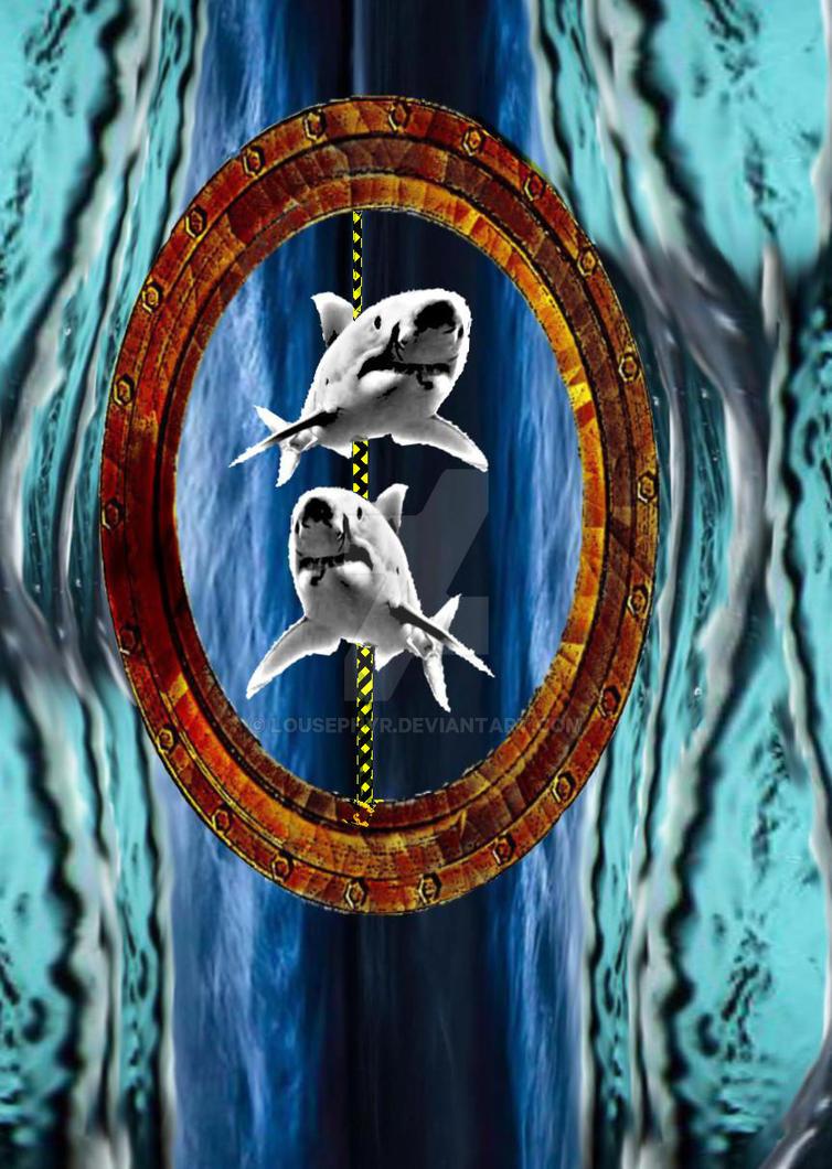 Shark Carousel.w.i.p. by lousephyr