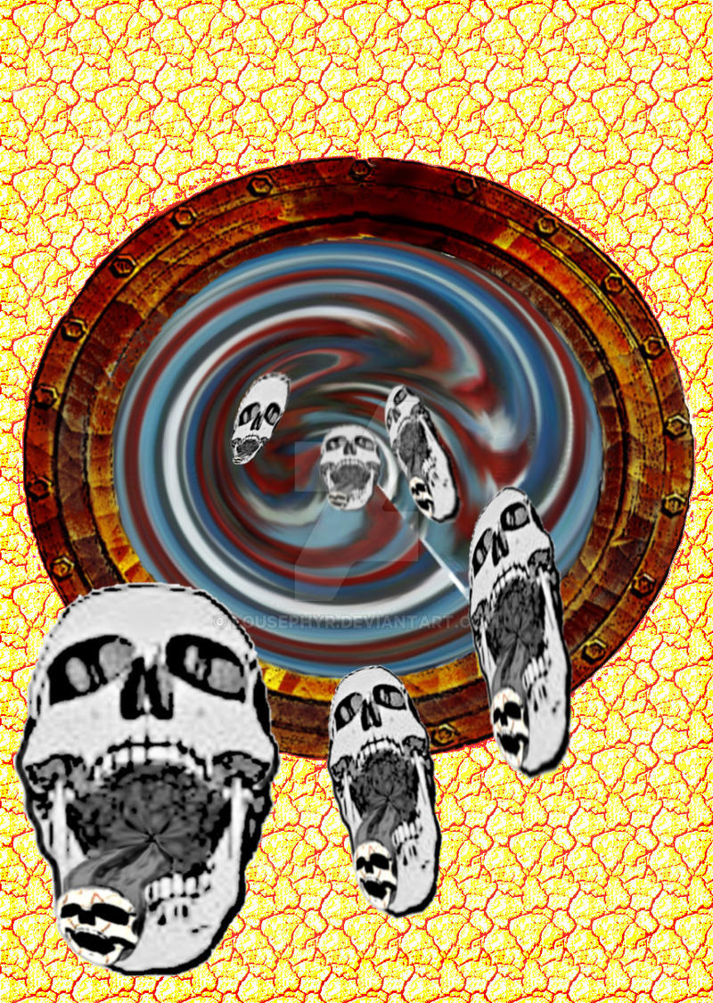 Sinkhole.skulls..w.i.p stage 1 by lousephyr