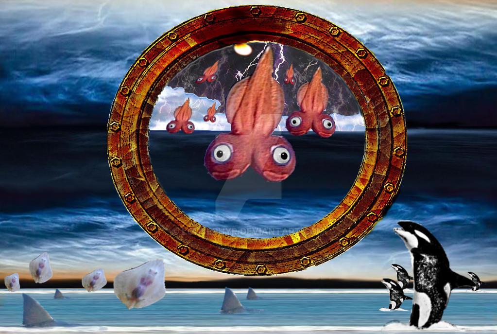 Ocean Invasion by lousephyr