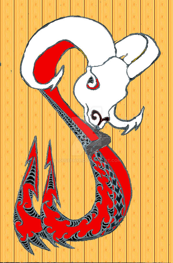 Ram headed Matau W.I.P. by lousephyr