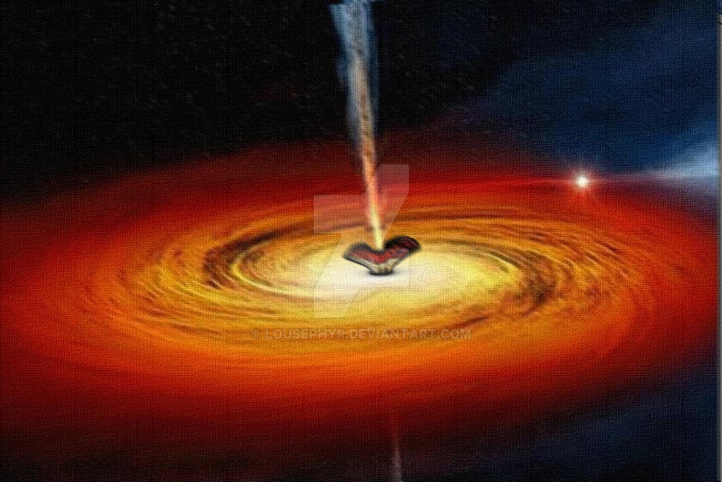 Galactic  Core by lousephyr