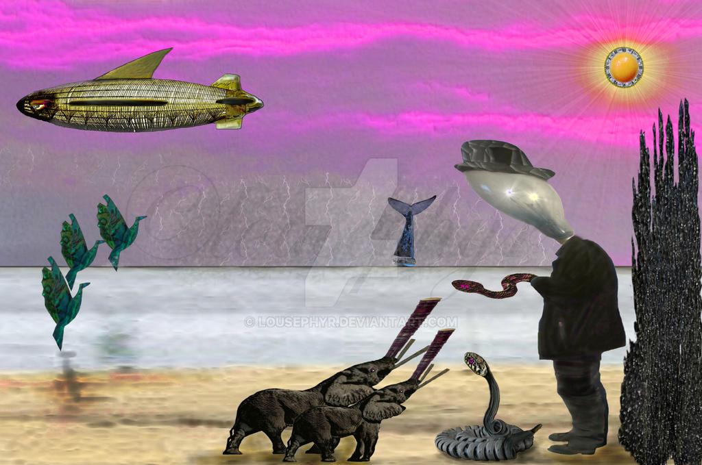 Snake Charmers by lousephyr
