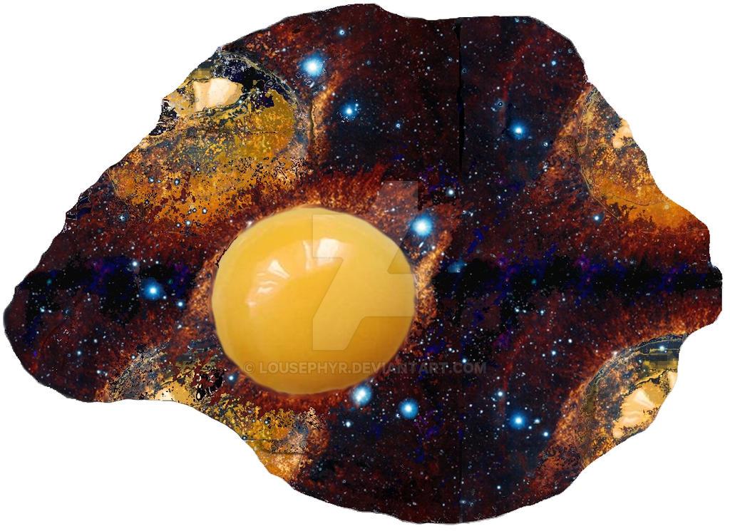 The Egg Galaxy by lousephyr