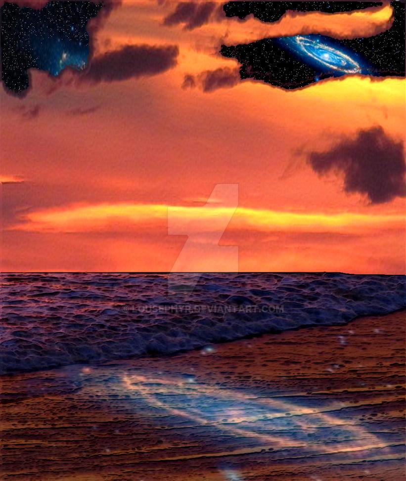 Cosmic Ocean by lousephyr