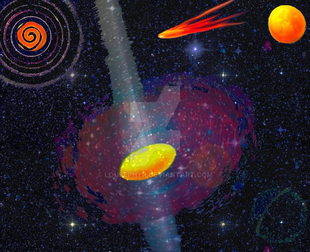 The Cosmic Egg-niverse by lousephyr
