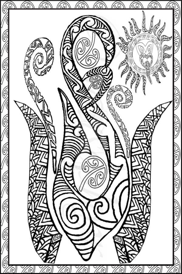 Te Manaia by lousephyr