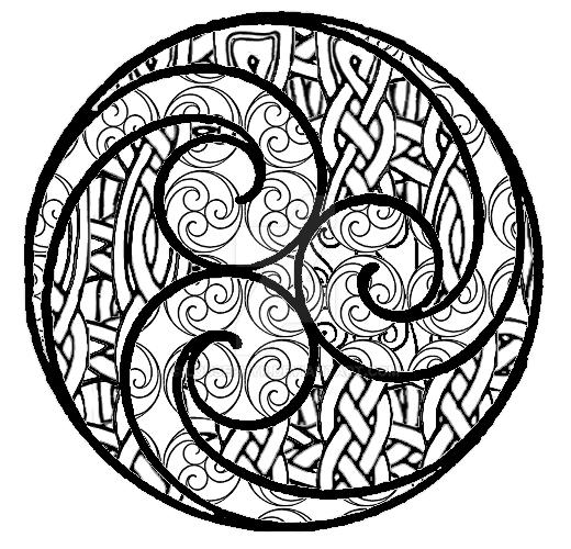 Triskele-Koru by lousephyr