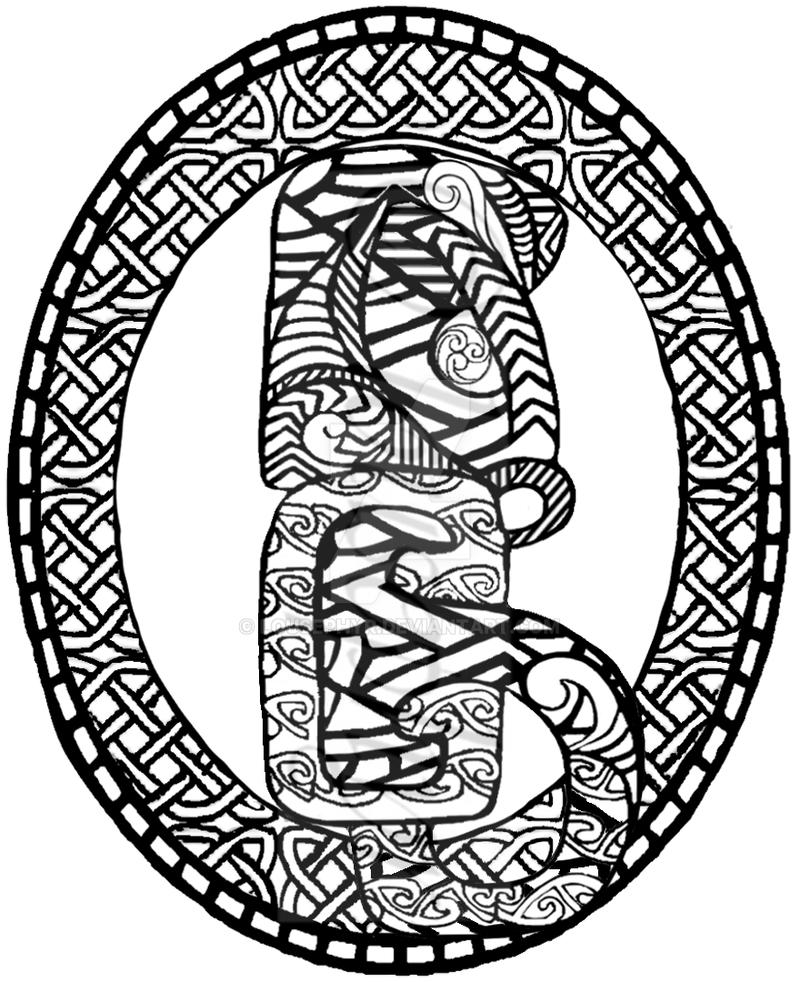Tiki shield by lousephyr