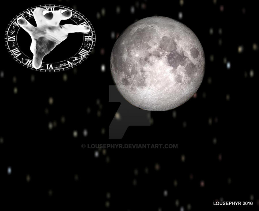 Grab the Moon by lousephyr