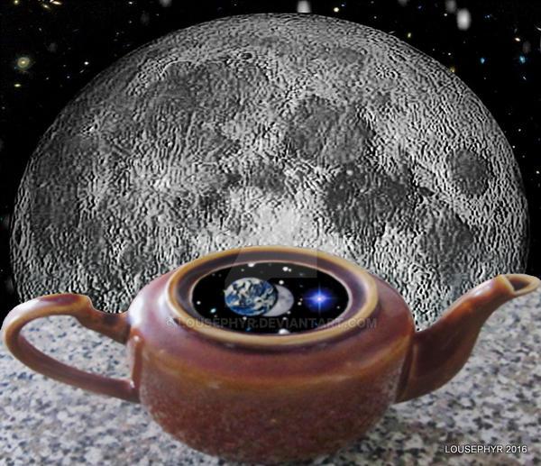 Teapot Planet by lousephyr