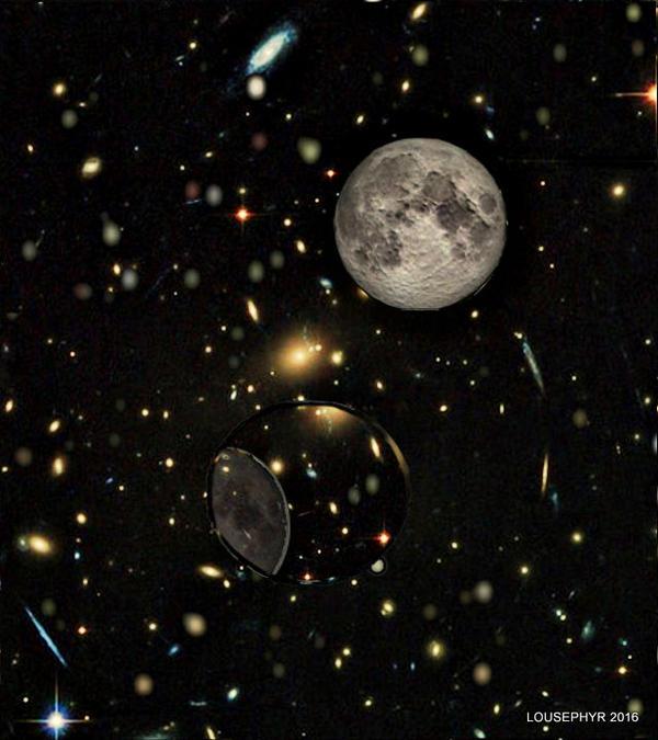 Space Bubble by lousephyr