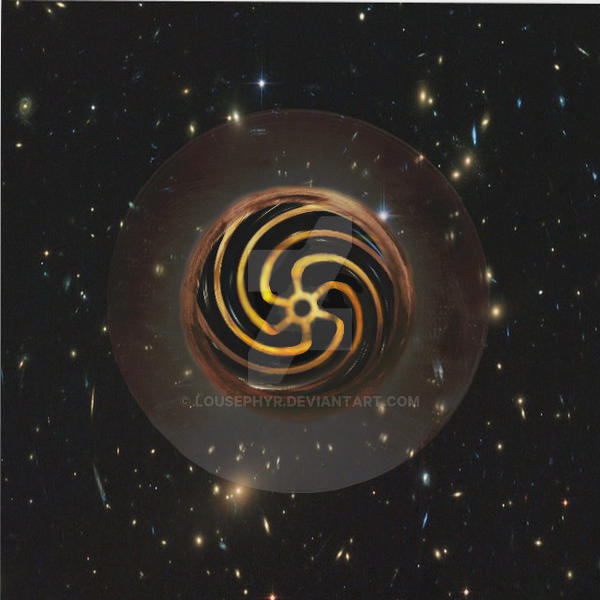 Inside an Event Horizon by lousephyr