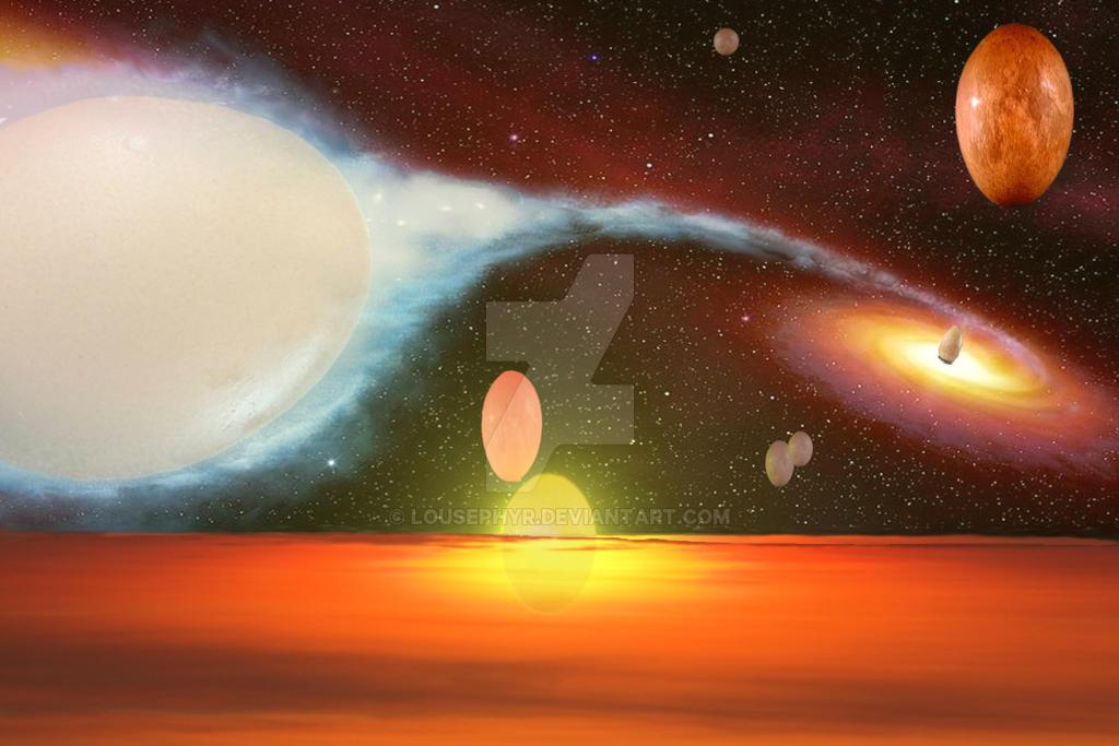 Eggceptional Universe by lousephyr