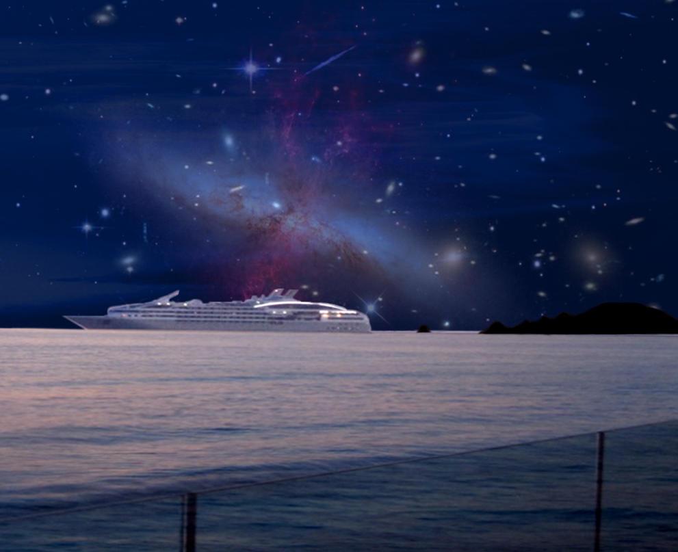 Cruise ship Galaxy by lousephyr