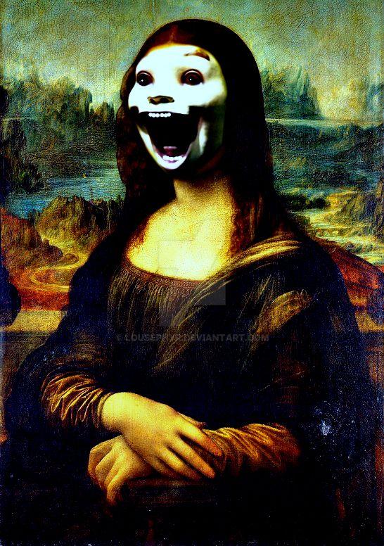 Mona Lisa-Scream by lousephyr