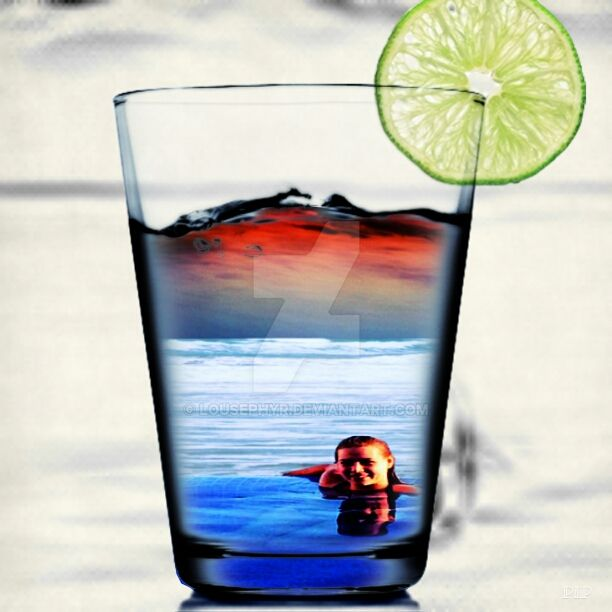 Glass of Summer...PipCam by lousephyr