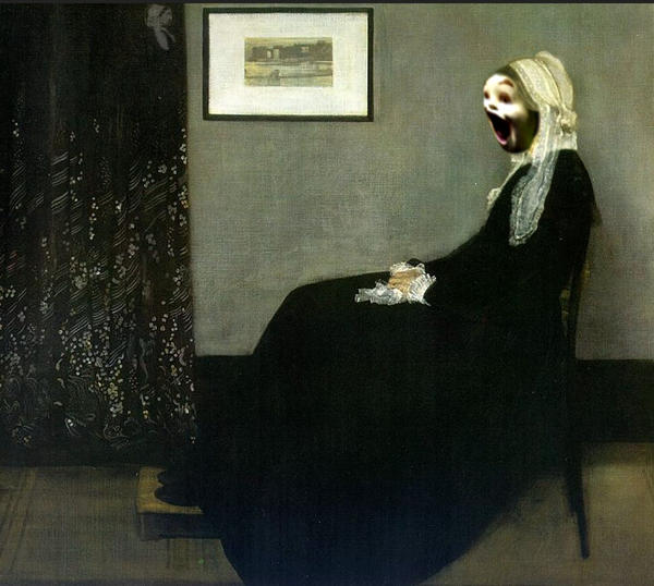 Whistlers freaked Mother..parody by lousephyr