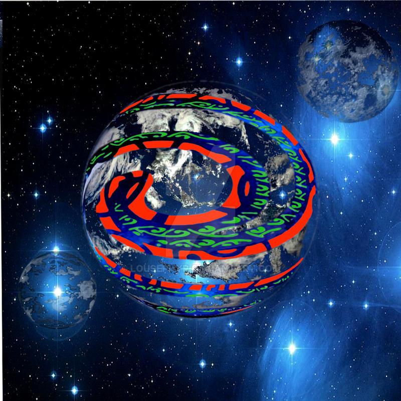 Planet Koru by lousephyr