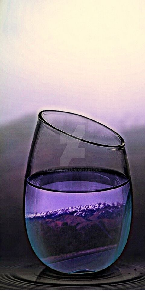 Glass of mountain freshness..PipCam by lousephyr