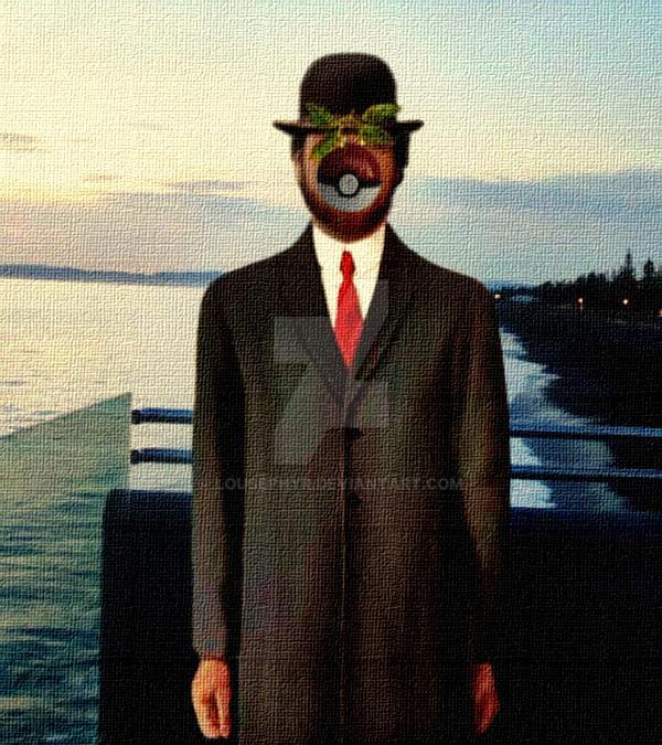 PokeMon Magritte..Parody by lousephyr
