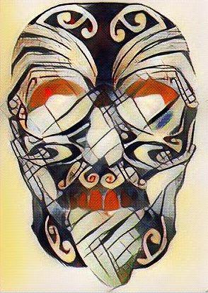 Tattoo Skull by lousephyr