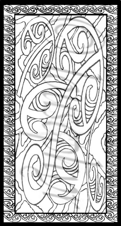 Mangopare..koru.13.bookmark by lousephyr